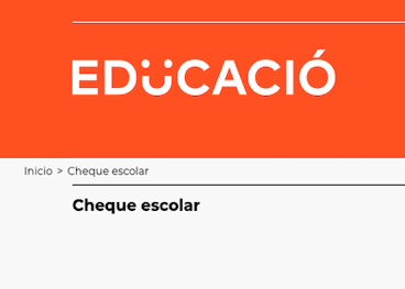 Cheque escolar 2020-2021